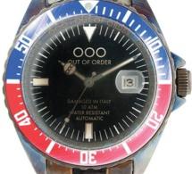 Out Of Order : des montres... abîmées en Italie !