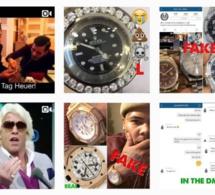 Instagram : FakeWatchBusta traque les fausses tocantes des rappeurs !