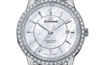 Eterna Tangaroa Lady automatique, nacre et diamants…